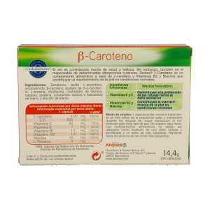 Beta Caroteno – Dietisa – 36 cápsulas