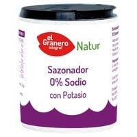 Sazonador 0% Sodio con Potasio – El Granero Integral – 200 gr