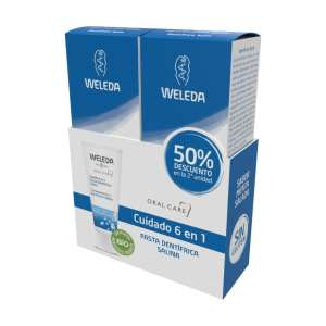 Duplo Pasta Dentífrica Salina – Weleda – 2 x 75 ml