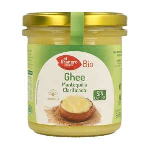 Ghee Mantequilla Clarificada – El Granero Integral – 340 ml