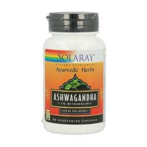 Ashwagandha – Solaray – 60 capsulas