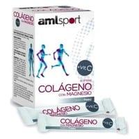AmlSport Colágeno con Magnesio + Vit C – Ana Maria Lajusticia – 20 sobre