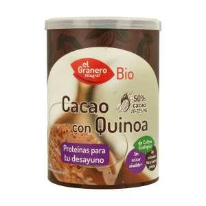 Cacao Con Quinoa BIO – El Granero Integral – 200 gr