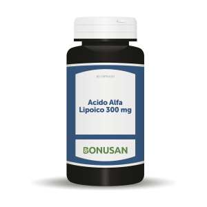 Ácido Alfa Lipoico 300 mg – Bonusan – 60 cápsulas