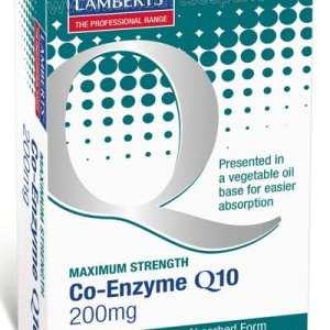 Co-Enzima Q10 200 mg – Lamberts – 60 Cápsulas