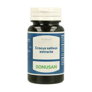 Crocus Sativa Extracto – Bonusan – 60 cápsulas