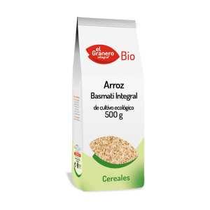 Arroz Integral Basmati Bio – El Granero Integral – 500 gr