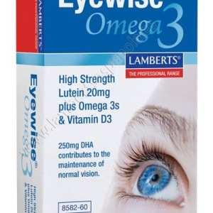 Eyewise Omega 3 – Lamberts – 60 perlas