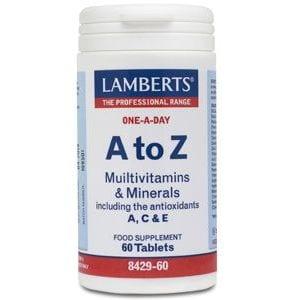 A-Z Multi – Lamberts – 60 comprimidos