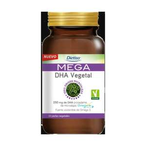 Mega DHA Vegetal – Dietisa – 50 perlas