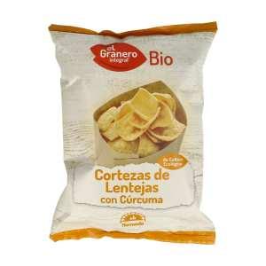 Cortezas de Lentejas Bio – El Granero Integral – 65 gramos