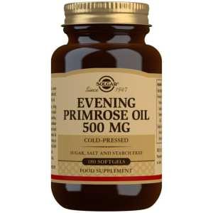 Aceite de Prímula de Rosa 500 mg – Solgar – 180 Cápsulas