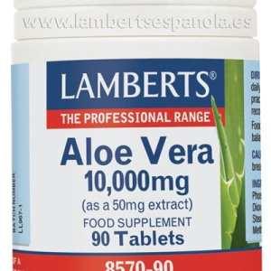 Aloe Vera 10.000 mg – Lamberts – 90 comprimidos