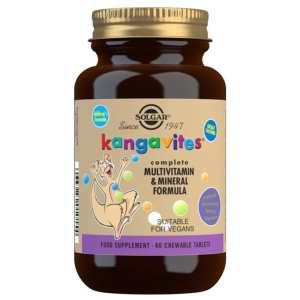Kangavites Multi Sabor Frutas del Bosque – Solgar – 60 comprimidos