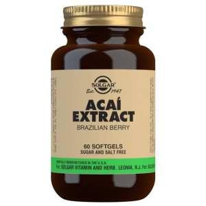 Extracto de Acai 50 mg – Solgar – 60 cápsulas