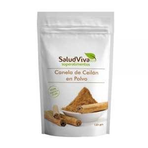Canela de Ceilan en Polvo – Salud Viva – 125 gr