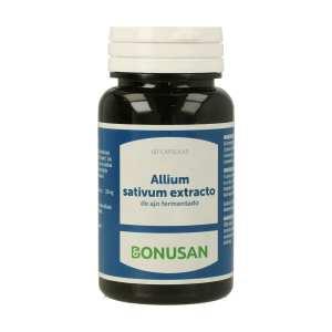 Allium Sativum Extracto ( Ajo Negro ) – Bonusan – 60 cápsulas