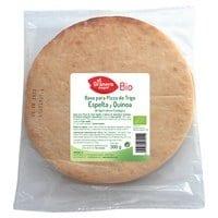 Base para pizza de Trigo Espelta y Quinoa Bio – El Granero Integral – 300 gr
