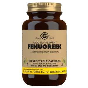 Fenogreco – Solgar – 100 Cápsulas