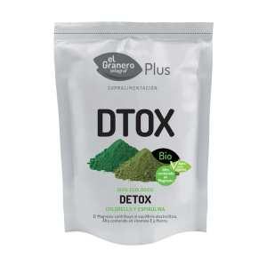 Detox (Chlorella y Spirulina) Bio – El Granero Integral – 200 gr