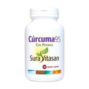 Cúrcuma 95 – Sura Vitasan – 30 capsulas