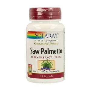 Saw Palmetto – Solaray – 60 cápsulas