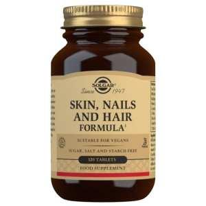 Pelo, piel y uñas – Solgar – 120 comprimidos