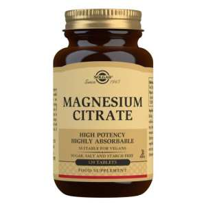 Citrato de Magnesio – Solgar – 120 comprimidos