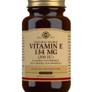 Vitamina E 200 UI – Solgar – 250 perlas