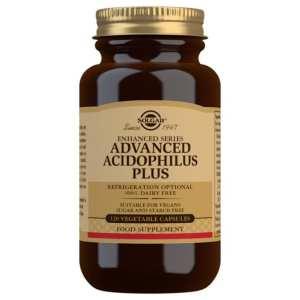 Acidophilus Plus Avanzado (no lácteo) – Solgar – 120 Cápsulas
