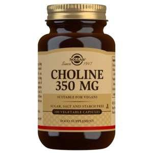 Colina 350 mg – Solgar – 100 cápsulas