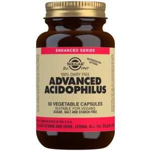 Acidophilus Plus Avanzado (no lácteo) – Solgar – 50 Cápsulas