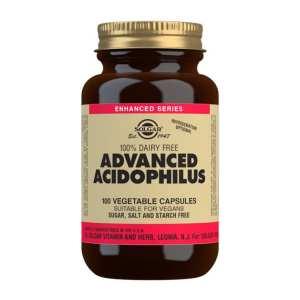 Acidophilus Plus Avanzado (no lácteo) – Solgar – 100 Cápsulas