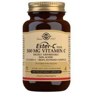 Ester-C Plus 500 mg – Solgar – 100 Cápsulas