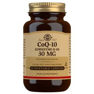 Coenzima Q10 30 mg – Solgar – 30 cápsulas