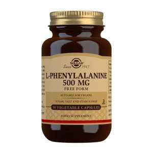 L-Fenilalanina 500 mg – Solgar – 50 cápsulas