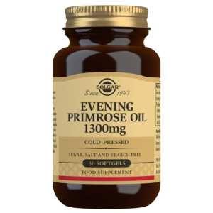 Aceite de Prímula de Rosa 1300 mg – Solgar – 30 perlas