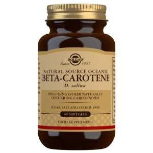 Betacaroteno Oceánico 7 mg – Solgar – 60 perlas