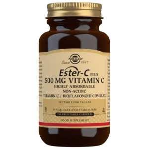 Ester-C Plus 500 mg – Solgar – 250 Cápsulas