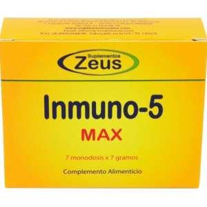Inmuno-5 Max – Zeus – 7 sobres