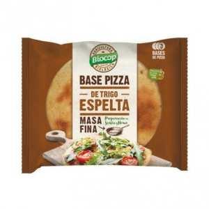 Base de Pizza de Espelta Masa fina – Biocop – 3 bases 390 gr