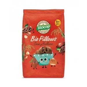 Biopillows Choco Avellanas sin gluten – Biocop – 300 gr