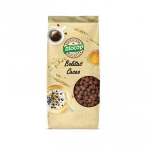 Bolitas crujientes de Cereales con Chocolate – Biocop – 250 gr