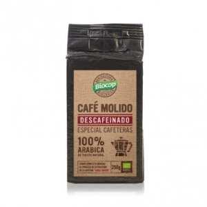 Café molido 100% Arábica descafeinado – Biocop – 250 gr