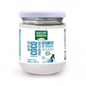 Aceite de Coco Virgen Bio – NaturGreen – 215 ml / 200 gr