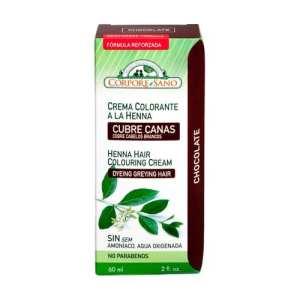 Crema Colorante Henna Chocolate – Corpore Sano – 60 ml