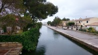 Brackish canals in the Alcudia Beach resort