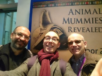 Manchester's curators loose in Liverpool World Museum!