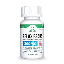 Green Roads Relax Bears Gummies 300mg