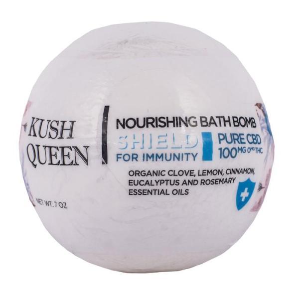 kush queen immunity bath bomb
